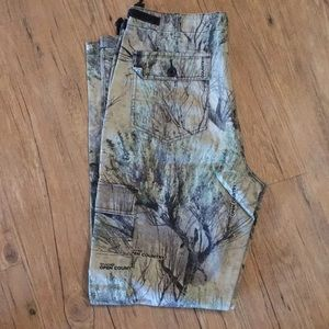 Men's open country camo pants 36 tall